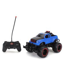 Toymaster Remote Control Cross Country Pick Up - Blue And Black