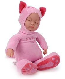 Toymaster Soft sleeping Doll Pink - 14 Inches