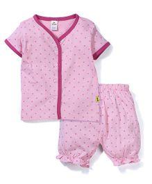 Tiny Bee Girls Sleeve Jabla Set - Pink