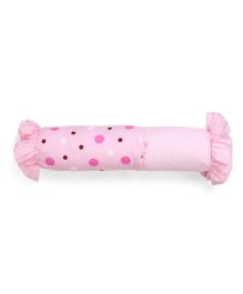 Attoon Dotted Bolster - Pink