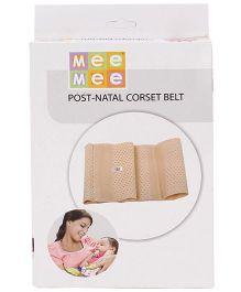 Mee Mee Post Natal Corset Belt Large - Cream
