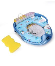Mee Mee Cushioned Potty Seat With Inbuilt Handle Airplane Print - Blue