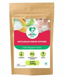 Little Moppet Baby Foods Multigrain Health Drink - 200 gm