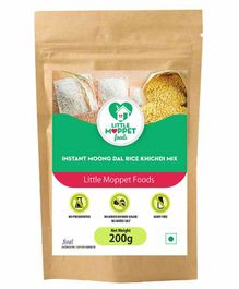 Little Moppet Baby Foods Instant Rice Khichdi Powder With Moongdal - 200 gm