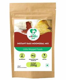 Little Moppet Baby Foods Instant Ragi Moongdal Powder - 200 gm