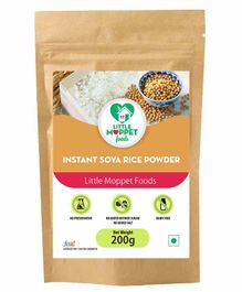 Little Moppet Baby Foods Instant Soya Rice Porridge Powder - 200gm