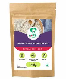 Little Moppet Baby Foods Instant Bajra Moongdal Powder - 200gm