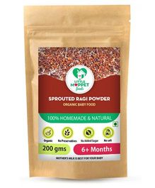 Little Moppet Baby Foods Sprouted Ragi Powder - 200 gm