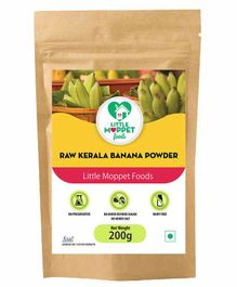Little Moppet Baby Foods Kerala Banana Powder - 200 gm