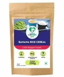 Little Moppet Baby Foods Banana Rice Cereal - 200 gm