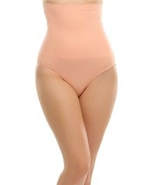 Clovia Flexible Extra Control High Waist Tummy Tucker - Peach