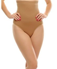 Clovia Flexible Extra Control High Waist Tummy Tucker - Brown