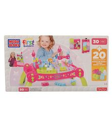 Mega Bloks Princess Fairy Table Multicolor - 50 Pieces