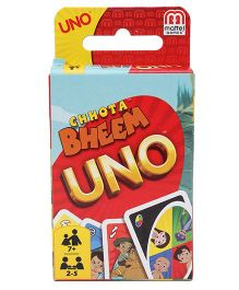 Mattel Games Uno Chotta Bheem Theme - Multicolor