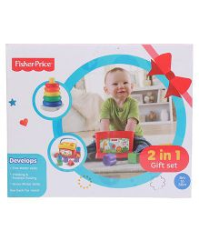 Fisher Price Baby Gift Pack Multicolor - 2 in 1