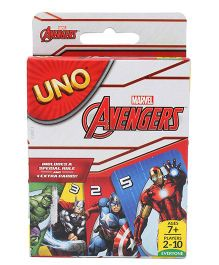 Marvel Uno Avengers Theme - Multicolor