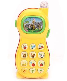 Smiles Creation Musical Phone Toy - Yellow Red