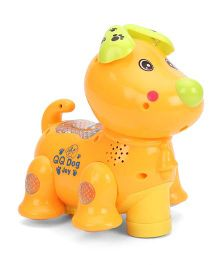 Toymaster Dog With Projector - Orange
