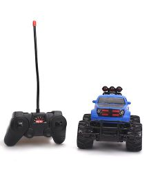 Toymaster Remote Control Cross Country Car - Blue And Black