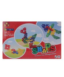 Toysbox Fun With Shapes Construction Sets - 12 Pieces