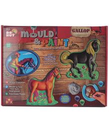 Toysbox Mould And Paint Kit - Multicolor