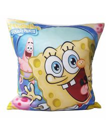 Sponge Bob Cushion Cover - Blue