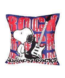 Peanuts Cushion Cover - Red & Blue