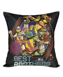 Ninja Turtle Cushion Cover - Black