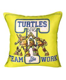 Ninja Turtle Cushion Cover - Yellow