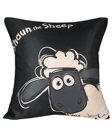 Shaun The Sheep Cushion Cover - Black