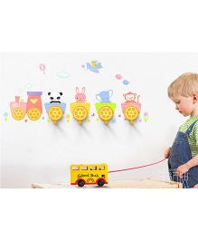 Supply Station DIY Train Wall Hook - Yellow