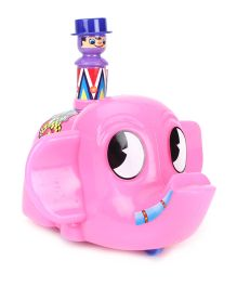 Luvely Push N Go Mr Jumbo - Pink