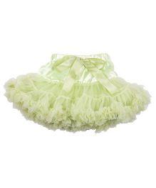 Kiwi Tutu Skirt With Ribbon Sash - Green
