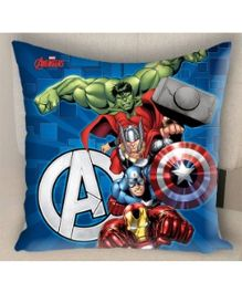 Marvel Athom Trendz Avengers Cushion Cover - Blue MAR-10-3-D51