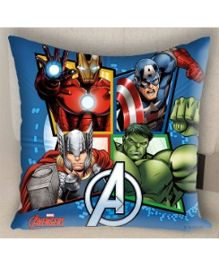 Marvel Athom Trendz Avengers Cushion Cover - Blue MAR-10-3-D52