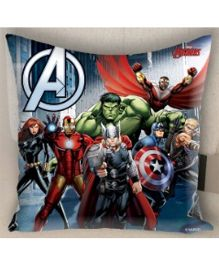 Marvel Athom Trendz Avengers Cushion Cover - Blue MAR-10-3-D54