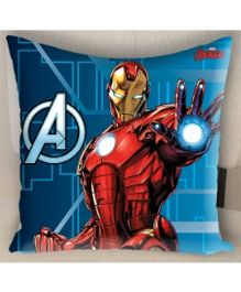 Marvel Athom Trendz Avengers Iron Man Cushion Cover - Blue MAR-10-3-D56