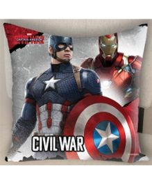 Marvel Athom Trendz Avengers Cushion Cover - Grey MAR-10-3-D59