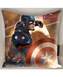 Marvel Athom Trendz Captain America Cushion Cover - Multicolor MAR-10-3-D61