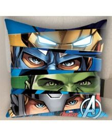 Marvel Athom Trendz Avengers Filled Cushion With Cushion Cover Blue - MAR 10 3 D53 FL