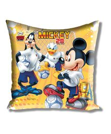 Disney Athom Trendz Mickey And Friends Cushion Cover - Yellow ATZ-10-3-D02