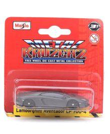 Maisto Lamborghini Aventador LP 700-4 Die Cast Car  - Metallic Grey