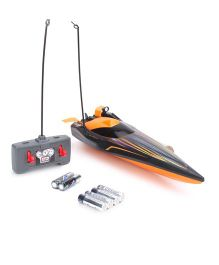 Maisto Hydro Blaster RC Speed Boat - Black & Orange