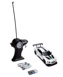 Maisto Radio Remote Control Bentley Continental GT3 - White