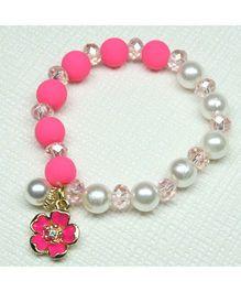 Asthetika Moti Bracelet - Pink & White