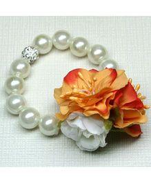 Asthetika Flower Bracelet - Orange