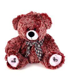 Starwalk Teddy Bear With Bow Brown - 34 cm