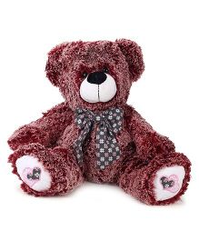 Starwalk Teddy Bear With Bow Brown - 17 Inches