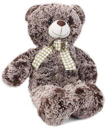 Starwalk Plush Teddy Bear With Bow Brown - 40 cm