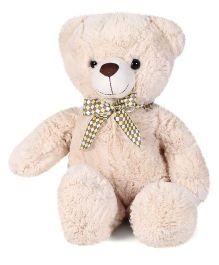 Starwalk Plush Teddy Bear With Ribbon Beige - 43 cm